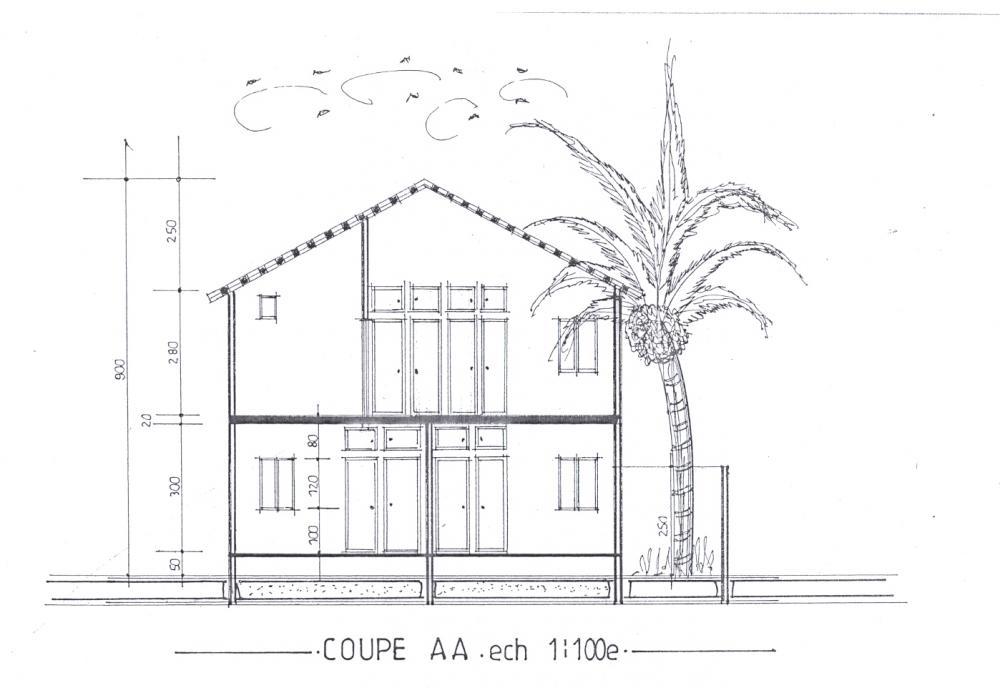 Maison villa au senegal a saly transaction immobiliere for Plan maison 150m2 senegal