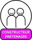 Constructeur Sénégal. logo.