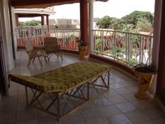 Constructeur à Ngaparou, Somone. Une terrasse aménagée.