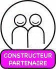 Construire au S�n�gal. Logo.